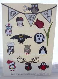elizabeth u0027s craft room owl punch ideas