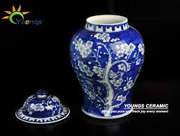 Blue And White Ceramic Vase Aliexpress Com Buy Qing Kangxi Antique Chinese Blue White