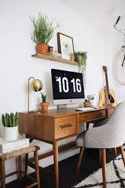 retro home office desk home office love the plants desirable desks pinterest spaces