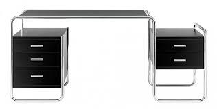 Schreibtisch Rund S 285 Stahlrohr Schreibtisch Thonet