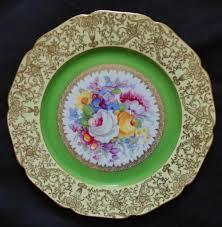 Macys China Cabinet 8 Bohemia Czechoslovakia Dinner Cabinet Plates 10 3 4
