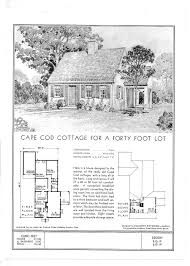 historic cape cod floor plans standard floor plans for a cape cod cottage ca 1940 cape cod
