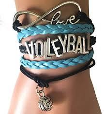 love braid bracelet images Handmade infinity love volleyball bracelet sports jpg