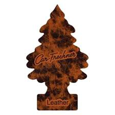 car freshner u1p 10290 leather tree car freshener