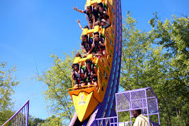 Six Flags Ad The Joker Chaos Coaster Six Flags Over Georgia