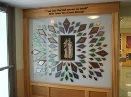 catholic nursing facility donor wall donor walls photo