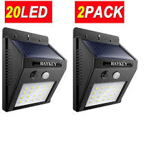 Led Outdoor Sensor Light Motion by Raykey 20 Led Solar Lights Motion Sensor Light Everbright