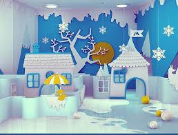 amazing interior design from moomin books kindergarten winter