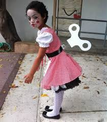 Childrens Scary Halloween Costumes 25 Creepy Doll Costume Ideas Creepy Doll