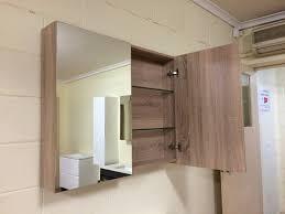 Glass Shelves For Medicine Cabinet Shave 900mm White Gloss Polyurethane Pencil Edge Mirror Shaving