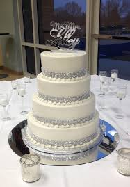 wedding cakes with bling wedding cake