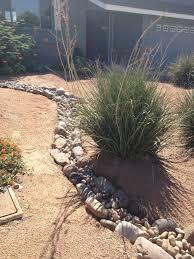 Desert Landscape Ideas by Scottsdale Desert Landscape Fake Rock Water Path Our Home