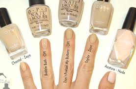 mani monday barely there natural nails the trendy nail