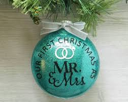 personalized wedding christmas ornaments wedding ornaments etsy