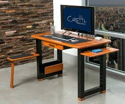 Computer Desk Wood Computer Desk Gaming Classic And Affordable Wood Computer