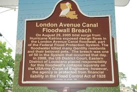 New Orleans Levee Map by New Orleans Ladder 5 22 11 5 29 11