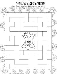 daisy red petal maze makingfriendsmakingfriends