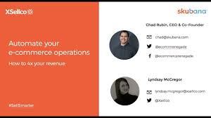 Webinar E Commerce Logistics Oct Automate Your E Commerce Operations How To 4x Your Revenue