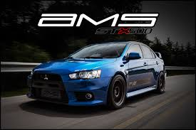 mitsubishi evo modded ams mitsubishi lancer evolution x stx400 package