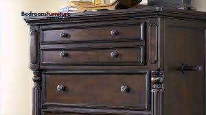 Ashley Greensburg Bedroom Set Ashley Key Town Panel Bedroom Set In Dark Brown Sale Youtube