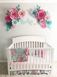Nursery Wall Decorations Wall Decor Floral Idfabriek