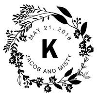 Save The Date Stamps Wedding Stamps U0026 Save The Date Stamps Custom Stamps U0026 Newlywed