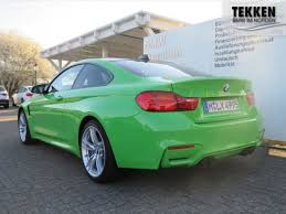 green bmw m4 zcp individual in lamborghini color verde mantis