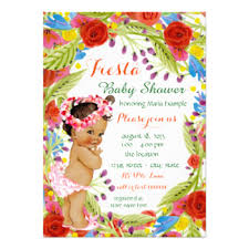 mexican baby shower invitations announcements zazzle