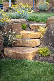 Rock Garden Steps by Rocks And Boulders Andrew Nicholson Landscapes