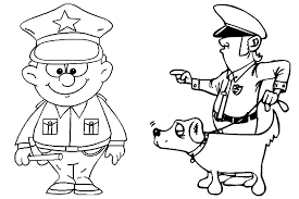 coloring printable police officer coloring pages 2673