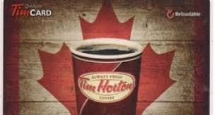 canadian daily deals thanksgiving tim hortons gift card giveaway