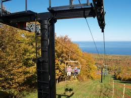 fall color chairlift rides porcupine mountains wilderness