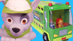 trash pack garbage truck recycle kids rocky paw patrol