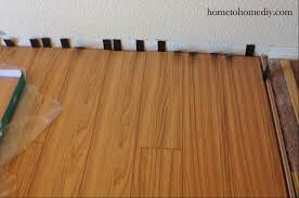Installing Laminate Flooring Installing Laminate Flooring Home To Home Diy Home To Home Diy
