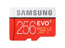 micro sd evo 256gb memory card w adapter memory storage mb