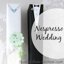 How To Wrap Wedding Gifts - wedding gift wrap nespresso boxes sum of their stories