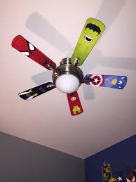 bedroom fans superhero ceiling fan blades kids room inspirations including