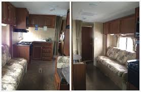 Camper Trailer Interior Ideas How To Use Bright Accent Colors To Improve An Rv U0027s Interior