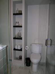 Next Bathroom Shelves Built In Next To Toilet Enclosing Waste Pipe Bathroom Remodel
