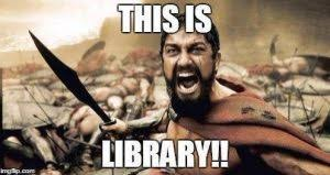 Meme Library - a year in library memes and why we need more infospace