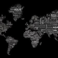 white and black wallpaper world map mural black and white new world map wallpaper grey