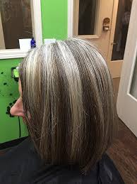 doing low lights on gray hair lowlights and highlights for gray hair best hairstyles 2018