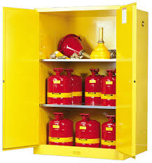 Yellow Flammable Storage Cabinet Airgas Jtr899000 Justrite 90 Gallon Yellow Sure Grip Ex 18