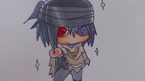 drawing chibi sasuke naruto movie