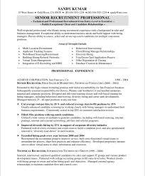 manager resume template hrrecruiter free resume sles blue sky resumes in recruiting
