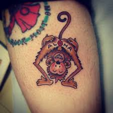 aloha monkey tattoo meaning old anchor usa tattoo by