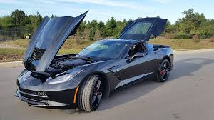 corvette 2015 stingray price sold 2015 chevrolet corvette stingray coupe 3lt 8spd black