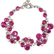 crystal pink bracelet images Swarovski crystal gemini london jewellery pink crystal chandelier jpg