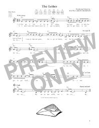 tablature guitare the letter de box tops ukulele