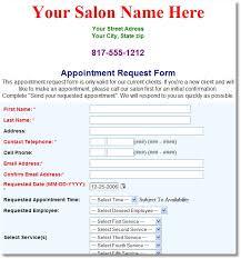Salon Client Information Sheet Template Customer Request Form Corrective Request Form 11 Sle